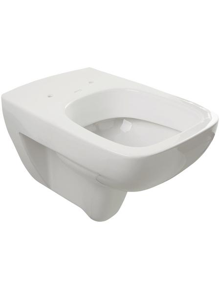 KERAMAG Wand WC »Renova Nr. 1 Plan«, Tiefspüler, weiß, mit Spülrand