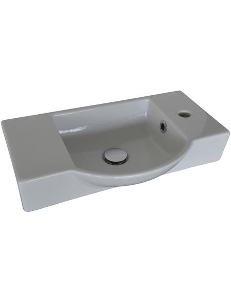 FACKELMANN Waschbecken »Gäste-WC«, Breite: 54,5 cm