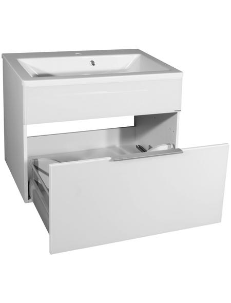 FACKELMANN Waschbeckenunterschrank »KARA«, BxHxT: 79,5 x 59 x 49 cm Anschlagrichtung: links/rechts