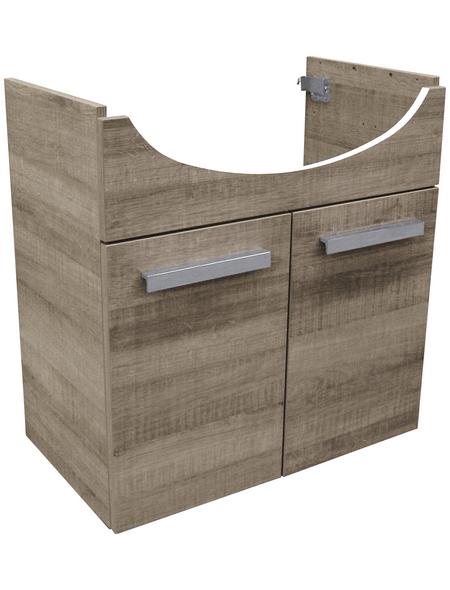 FACKELMANN Waschtischunterbau »A-Vero«, B x H x T: 62,5 x 64 x 35 cm