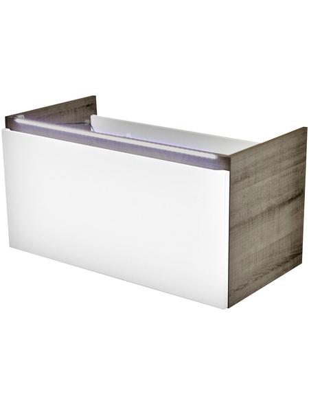 FACKELMANN Waschtischunterbau »Piuro«, B x H x T: 85 x 44 x 44 cm
