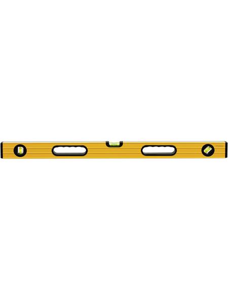 CON:P Wasserwaage, Gelb, LxBxH: 100 x 5,6 x 2 cm