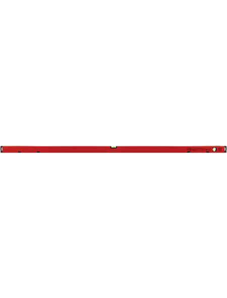 CONNEX Wasserwaage, Länge: 180 cm, rot