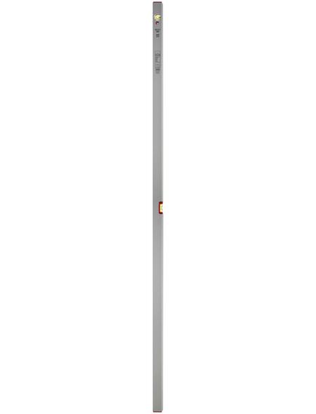 CONNEX Wasserwaage, Länge: 200 cm, silberfarben