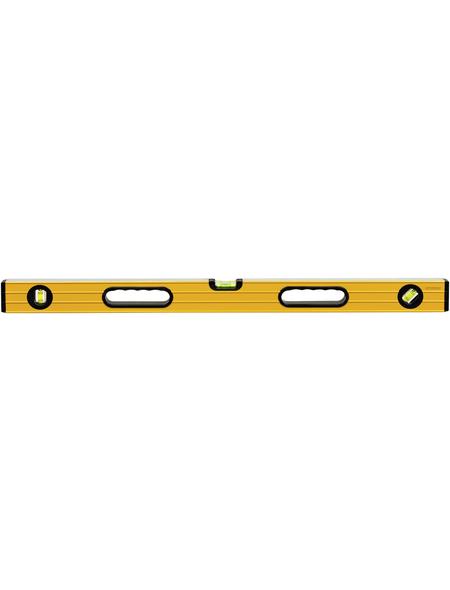 CONNEX Wasserwaage, Länge: 80 cm, gelb