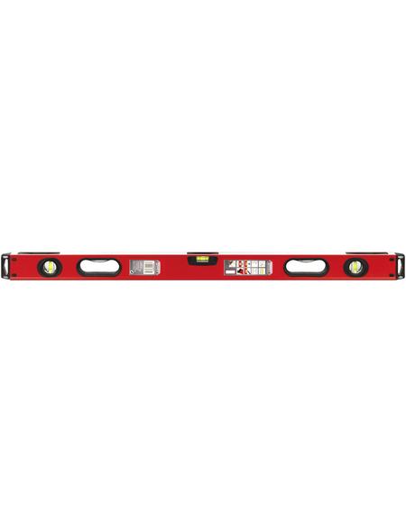 CONNEX Wasserwaage, Profi, Rot, LxBxH: 100 x 5,2 x 2,1 cm
