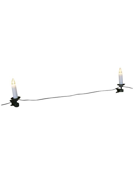 KONSTSMIDE Weihnachtsbaumbeleuchtung, warmweiß, Netzbetrieb, Kabellänge: 13,1 m