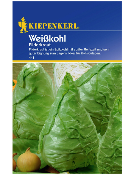 KIEPENKERL Weißkohl oleracea var. capitata f. alba Brassica »Filderkraut«
