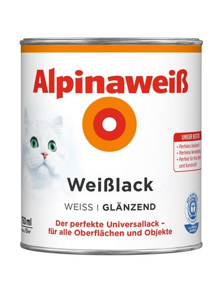 alpina Weißlack, glänzend