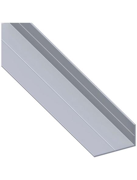 alfer® aluminium Winkelprofil Alu silber 2500 x 65,6 x 35,5 x 2,4 mm