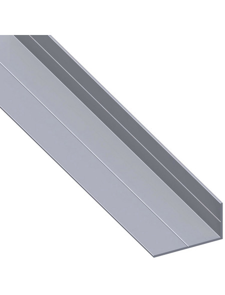 alfer® aluminium Winkelprofil combitech® Alu silber 1000 x 19,5 x 11,5 x 1,5 mm