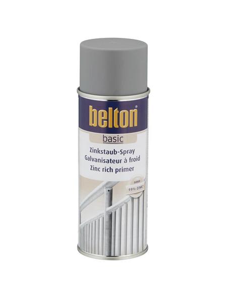 BELTON Zinkstaubspray »Basic«, 400 ml, grau