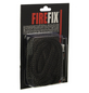 FIREFIX® Abdichtkordel, Ø 1,4 cm, Glasstrickschnüre, für: Kamin, Ofen-Thumbnail
