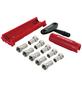 SCHWAIGER Abisolier-Montage-Werkzeug Set, 13-teilig, für Koaxialkabel-Thumbnail