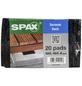 SPAX Abstandhalter für Dielen, LxBxH: 10 x 10 x 0,8 cm, Schwarz, Gummigranulat-Thumbnail