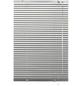 Aluminium-Jalousie, Silber, 100x175 cm-Thumbnail