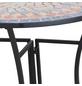 SIENA GARDEN Anstelltisch »Prato«, BxHxT: 70 x 71,5 x 35,5 cm, Stahl/Keramik-Thumbnail