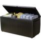 KETER Auflagenbox »Wood Style Box Springwood«, BxHxT: 123 x 57 x 53,5 cm, braun-Thumbnail