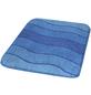 KLEINE WOLKE Badematte »Helena«, blau, abgerundet, 60 x 90 cm-Thumbnail