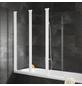 SCHULTE Badewannentrennwand »ExpressPlus«, BxH: 125 x 140 cm, Echtglas-Thumbnail