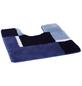 KLEINE WOLKE Badteppich »Dakota«, marineblau, B x L: 55 x 55 cm-Thumbnail
