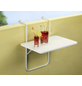 BEST Balkonhängetisch »Boy«, mit Alcolit-Tischplatte, BxTxH: 60 x 40 x 5 cm-Thumbnail