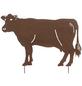 Beetstecker, Kuh, rostfarben, Metall-Thumbnail