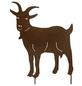Beetstecker, Ziege, rostfarben, Metall-Thumbnail