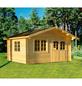 MR. GARDENER Blockbohlenhaus »Alaska 2«, BxT: 514 x 450 cm, Satteldach-Thumbnail