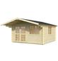 MR. GARDENER Blockbohlenhaus »England 1«, BxT: 404 x 444 cm, Satteldach-Thumbnail