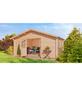 MR. GARDENER Blockbohlenhaus »Irland 1,5«, BxT: 380 x 403 cm, Satteldach-Thumbnail