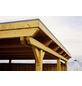SKANHOLZ Carport, B x T x H: 354 x 604 x 238 cm, natur-Thumbnail