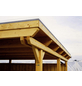 SKANHOLZ Carport »Emsland«, Außenmaß BxT: 315 x 738 cm, nussbaum-Thumbnail