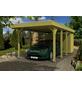 SKANHOLZ Carport »Friesland«, Außenmaß BxT: 293 x 622 cm, grün-Thumbnail