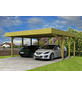 SKANHOLZ Carport »Friesland«, Außenmaß BxT: 537 x 469 cm, grün-Thumbnail
