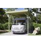 SKANHOLZ Carport »Friesland Caravan 1«, Außenmaß BxT: 378 x 469 cm, grün-Thumbnail