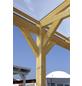 SKANHOLZ Carport »Wendland«, Außenmaß BxT: 350 x 333 cm, schiefergrau-Thumbnail