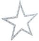 KONSTSMIDE Dekoleuchte, sternförmig, Höhe: 47 cm, Netzbetrieb-Thumbnail