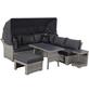 CASAYA Dining-Lounge »Trivor«, 4 Sitzplätze, inkl. Auflagen-Thumbnail