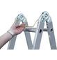 KRAUSE Doppelleiter »MONTO TriMatic«, 12 Sprossen, Aluminium-Thumbnail