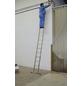 KRAUSE Doppelleiter »STABILO«, 16 Sprossen, Aluminium-Thumbnail