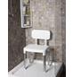 Dusch- und Badestuhl , Weiß-Thumbnail