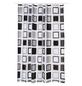 KLEINE WOLKE Duschvorhang »Clipper«, BxH: 180 x 200 cm, Karos, anthrazit-Thumbnail