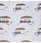 KLEINE WOLKE Duschvorhang »Eulen«, BxH: 180 x 200 cm, Tiere, taupe-Thumbnail