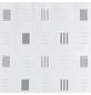 KLEINE WOLKE Duschvorhang »Grafico«, BxH: 180 x 200 cm, Karos, anthrazit-Thumbnail