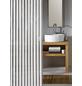 KLEINE WOLKE Duschvorhang »Noa«, BxH: 180 x 200 cm, Streifen, weiß-Thumbnail