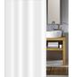 KLEINE WOLKE Duschvorhang »Phönix«, BxH: 120 x 200 cm, Uni, weiß-Thumbnail