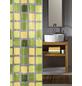 KLEINE WOLKE Duschvorhang »Sonny«, BxH: 180 x 200 cm, Quadrate, grün-Thumbnail