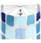 KLEINE WOLKE Duschvorhangspinne »Big Spider«, BxH: 9 x 71 cm, Karos, weiß/chromfarben-Thumbnail