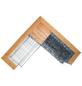 BELLISSA Ecksitzbankgabione, BxHxL: 215 x 64 x 215 cm, stahl/douglasienholz-Thumbnail